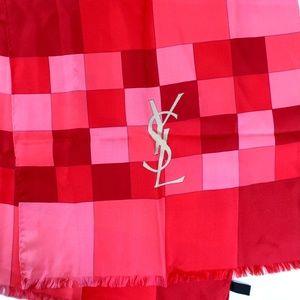 Saint Laurent Pink Scarf